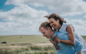 Sunny Dartmoor Engagement Shoot