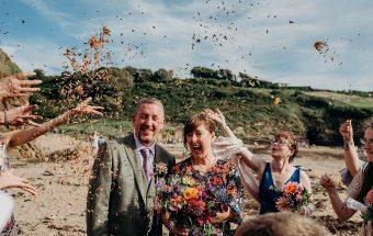 Devon Beach Wedding and Handfasting Ceremony