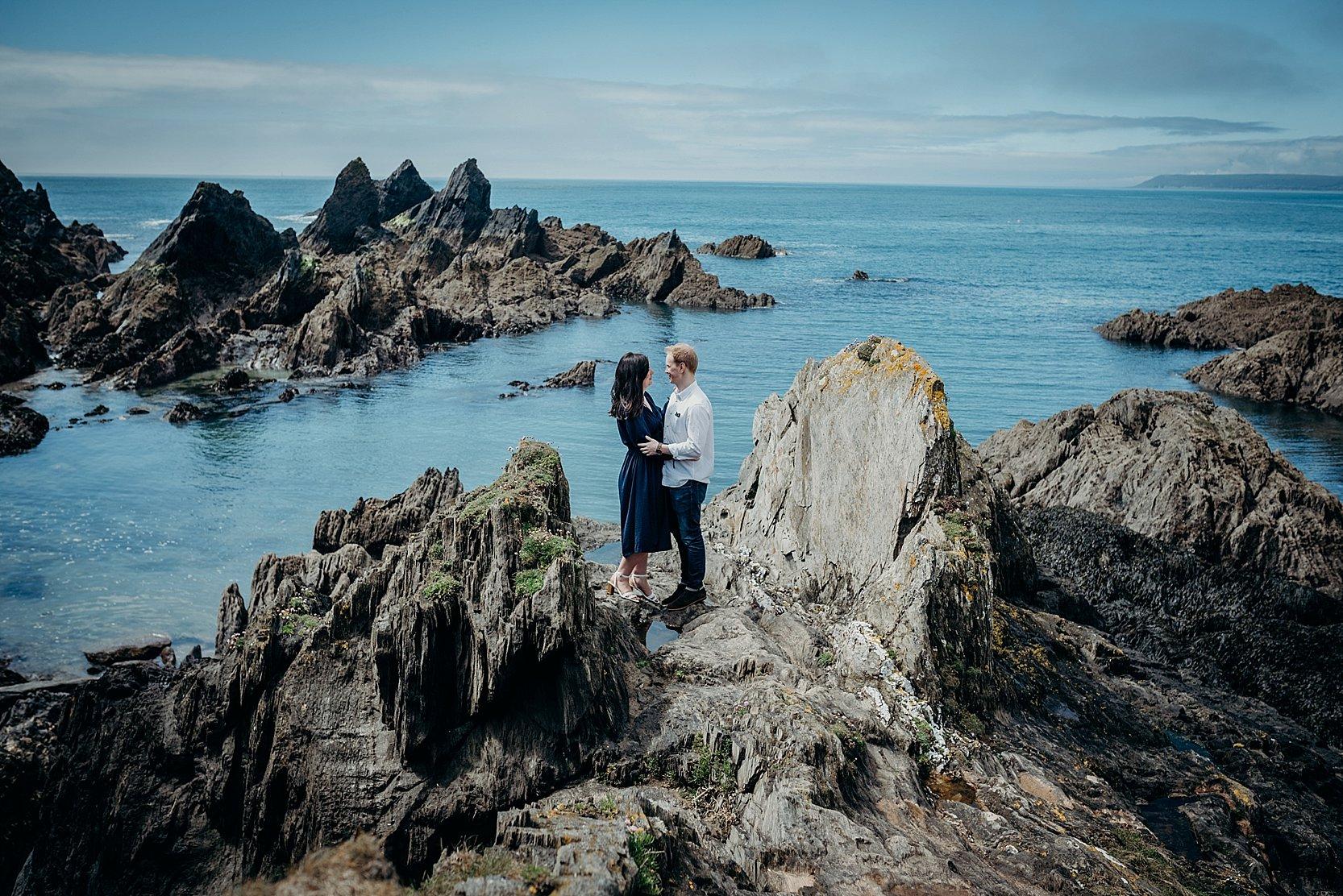 Burgh Island Engagement