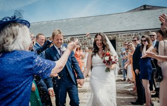 Chypraze Farm Wedding - Cornwall Wedding Photography